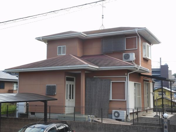 I邸改修前カラーベスト屋根